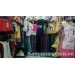 Sang sạp-kios quần áo thời trang nữ, chợ Hoàng Hoa Thám, Q.Tân Bình