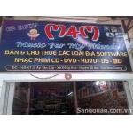 Cần sang tiệm đĩa nhạc, phim, game ĐC : Làng ĐH Thủ Đức, ĐH Quốc Gia TP HCM