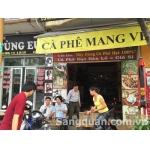 Sang quán cafe ghế gỗ 15 Nguyễn Văn Lượng, P.17, Gò Vấp