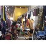 Sang kiot quần áo nữ trong Saigon Square Hai Bà Trưng, quận 3