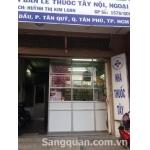 Sang nhà thuốc tây Chuẩn GPP 116 Gò Dầu quận Tân Phú
