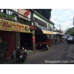 Sang quán ăn, cafe sân vườn 1/A3 Cộng Hòa, quận Tân Bình