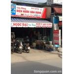 Sang cửa hàng điện nước, Đồ dùng gia dụng số 1081 Nguyễn Duy Trinh, Quận 9.