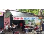 Sang quán cơm đông khách 2 mặt tiền Phan Anh, quận Tân Phú.