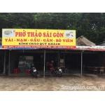 Sang quán phở + cafe võng đông khách ngay KCN Nam Tân Uyên , Bình Dương.