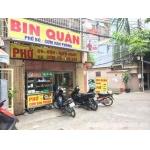 Sang quán cơm phở 21B1 đường D3, P. 25, quận Bình Thạnh.