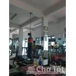 Sang phòng tập gym quận Bình Thạnh.