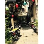 Sang cafe sân vườn phong cách Phố cổ Hội An
