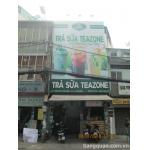 Sang quán trà sữa mặt tiền sầm uất trung tâm Tân Bình
