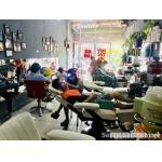 Sang gấp tiệm tóc máy lạnh nam nữ Quận Gò Vấp