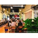 Sang nhà hàng mặt tiền đường Hoàng Sa , Quận 3