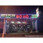 Sang quán ăn sân vườn - câu cá bờ hồ Biên Hoà Đồng Nai