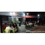 Sang quán nhậu sân vườn mặt tiền đường Nguyễn Cửu Phú, Bình Chánh,