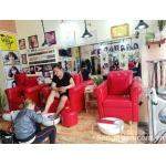 Sang salon tóc mặt tiền đường số 34 đường HT 22, quận 12