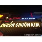 sang quán CHAY hoặc sang mặt bằng 134 Nguyễn Sơn
