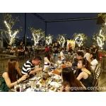 Sang lại nhà hàng mới xây dựng đẹp nhất quận Tân Phú.