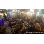 Sang Cafe Ghế Gỗ , Mb đẹp , MT Trường Sa , Q.3