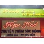 Sang Tiệm Nail - Mi - Spa tại đường Lê Khôi, Tân Phú
