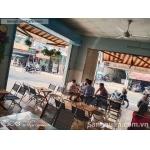 Sang Cafe Góc 2 MT ( 6m x 10m ) MB 10 tr , MT 460 Mã Lò