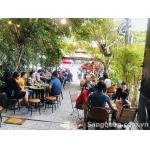 Cần sang gấp quán cafe bún bò Huế mặt tiền đường lớn Tạ Quang Bửu