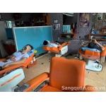 Sang tiệm tóc nam tại 130A Kênh Tân Hoá , quận Tân Phú