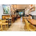 Sang quán Sunshine Coffee tại phường 25, Quận Bình Thạnh.
