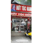 Sang tiệm tóc nằm mặt tiền đường Vạn Kiếp, P.3, quận Bình Thạnh.