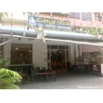 Sang quán Coffee , trà sữa ling's Tea đối diện trường THPT Tây Thạnh