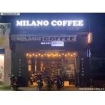Sang quán coffee Milano ngay sát chợ Tân Phước Khánh, mặt tiền 6x15m
